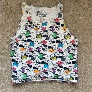 Disney X Forever 21 Minnie Crop Top